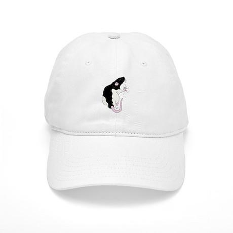 Black Hooded Cap