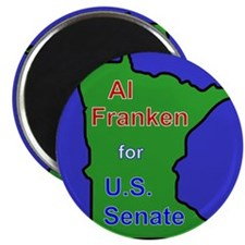 Al Franken for Senate Magnet