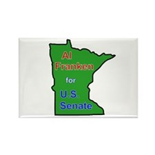 Al Franken for Senate Rectangle Magnet