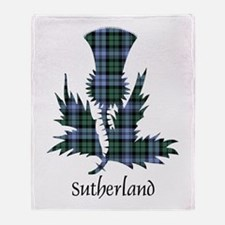 Thistle - Sutherland dist. Throw Blanket