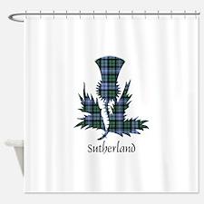 Thistle - Sutherland dist. Shower Curtain