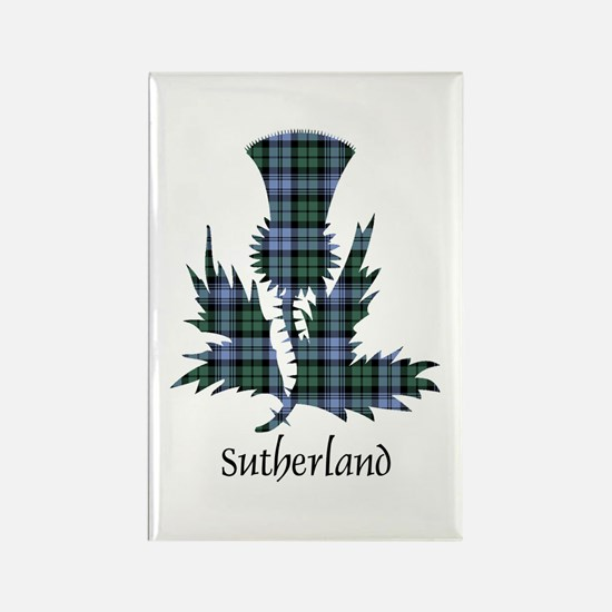 Thistle - Sutherland dist. Rectangle Magnet