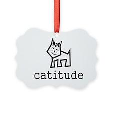 Catitude Ornament