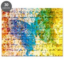 Colorful vintage butterfly Puzzle