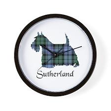 Terrier - Sutherland dist. Wall Clock