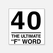 40 The Ultimate F Word Sticker