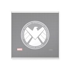 "MAOS White Eagle Square Sticker 3"" x 3"""