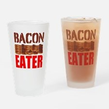 Bacon Eater Drinking Glass