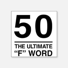 50 The Ultimate F Word Sticker