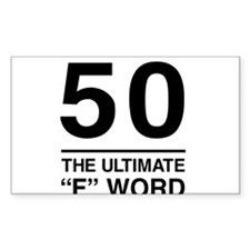 50 The Ultimate F Word Decal