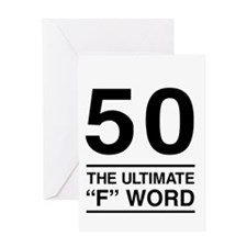 50 The Ultimate F Word Greeting Cards