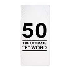 50 The Ultimate F Word Beach Towel
