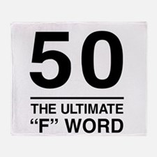 50 The Ultimate F Word Throw Blanket