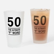 50 The Ultimate F Word Drinking Glass