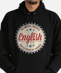 USA Official Language Hoodie