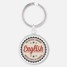 USA Official Language Keychains
