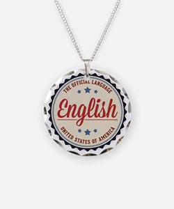 USA Official Language Necklace