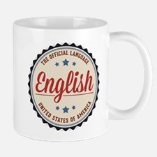 USA Official Language Mugs
