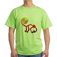 4-3-nazca monkey sunset T-Shirt