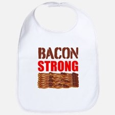 Bacon Strong Bib