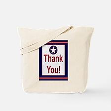 HAPPY BIRTHDAY AIR FORCE CARD Tote Bag