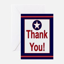 AIR FORCE Colors Thank You Cards (Pk o