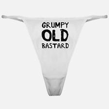 Grumpy Old Bastard Classic Thong