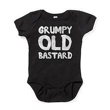 Grumpy Old Bastard Baby Bodysuit