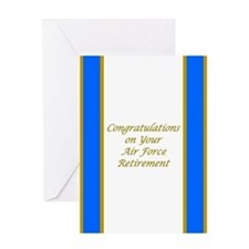 Air Force Retirement Congratulations Card