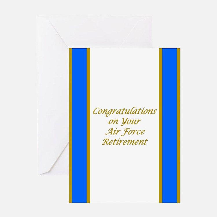 Air Force Retirement Congratulations Card