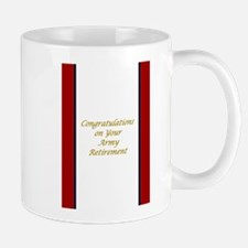 U. S. Army Retirement Congratulations Mug Mugs