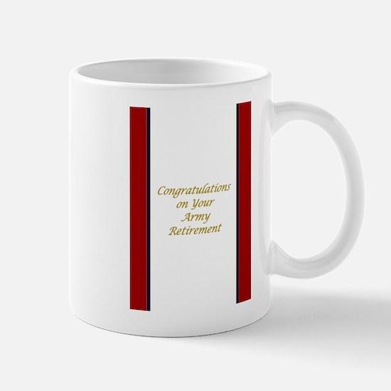 U. S. Army Retirement Congratulations Mug Mugs