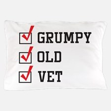 Grumpy Old Vet Pillow Case