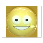 Candy Smiley - Yellow Small Poster