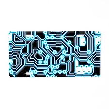ElecTRON - Blue/Black Aluminum License Plate