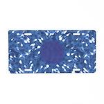 Little Swimmers - Blue Aluminum License Plate