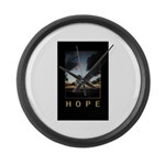 Hope Large Wall Clock