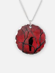Unique Raven Necklace