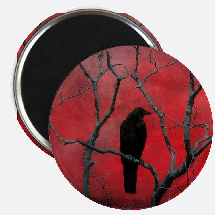 Cute Raven Magnet