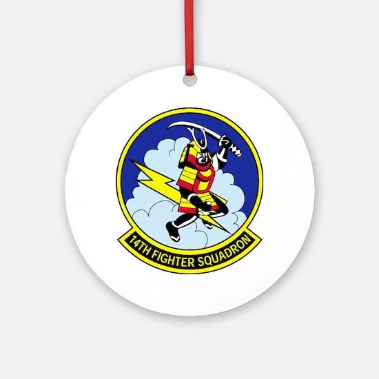 14th Fighter Squadron Ornament (round)