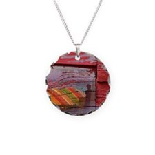 Surfing Collage Necklace