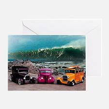 Wave Rides Greeting Card