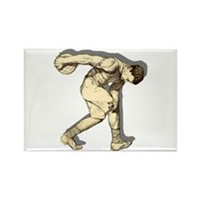 Discus Thrower Rectangle Magnet