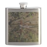 Merganser Family Flask