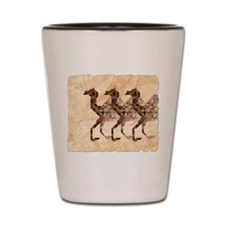 Three Camels Shot Glass