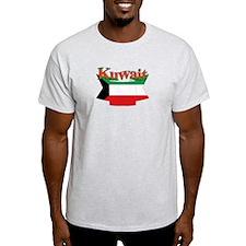 Kuwait flag ribbon T-Shirt