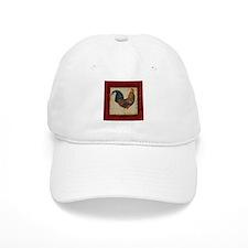 Red Rooster vintage Baseball Baseball Cap