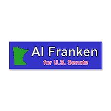 Al Franken Senate Car Magnet 10 x 3