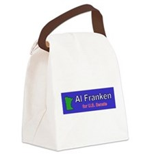 Al Franken Senate Canvas Lunch Bag