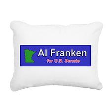 Al Franken Senate Rectangular Canvas Pillow